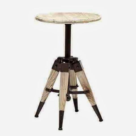 cavalleto tripod side table