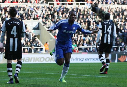 Didier Drogba, Newcastle - Chelsea