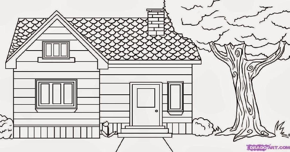 menggambar rumah related keywords suggestions