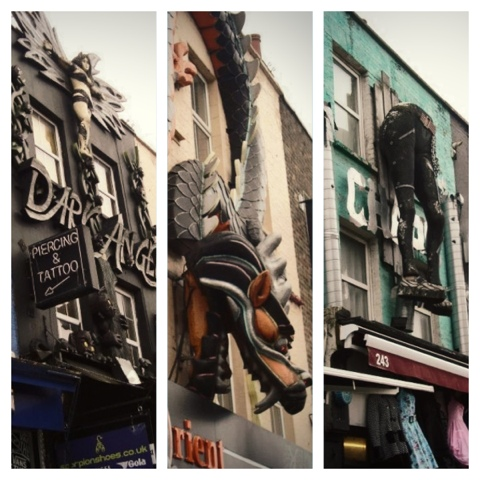 Camden town westfield 1rst day in london clairemakeupandco - Consigne saint pancras ...