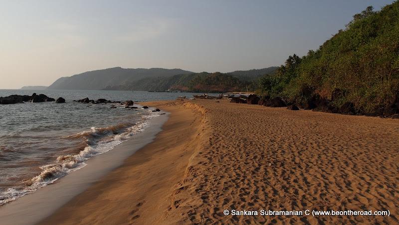 Very remote Cola Beach