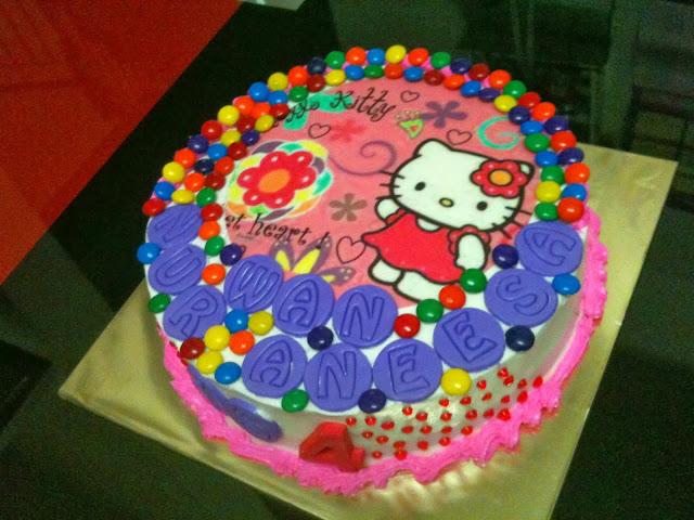 mamabisya cake house hello kitty birthday cake kek hari