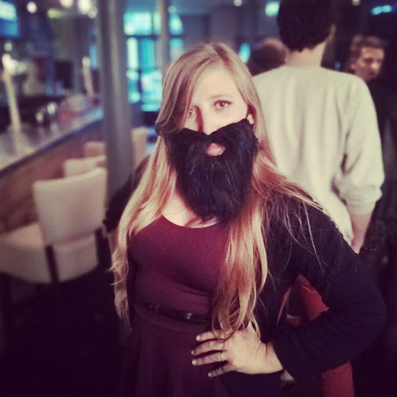 beard themed birthday party