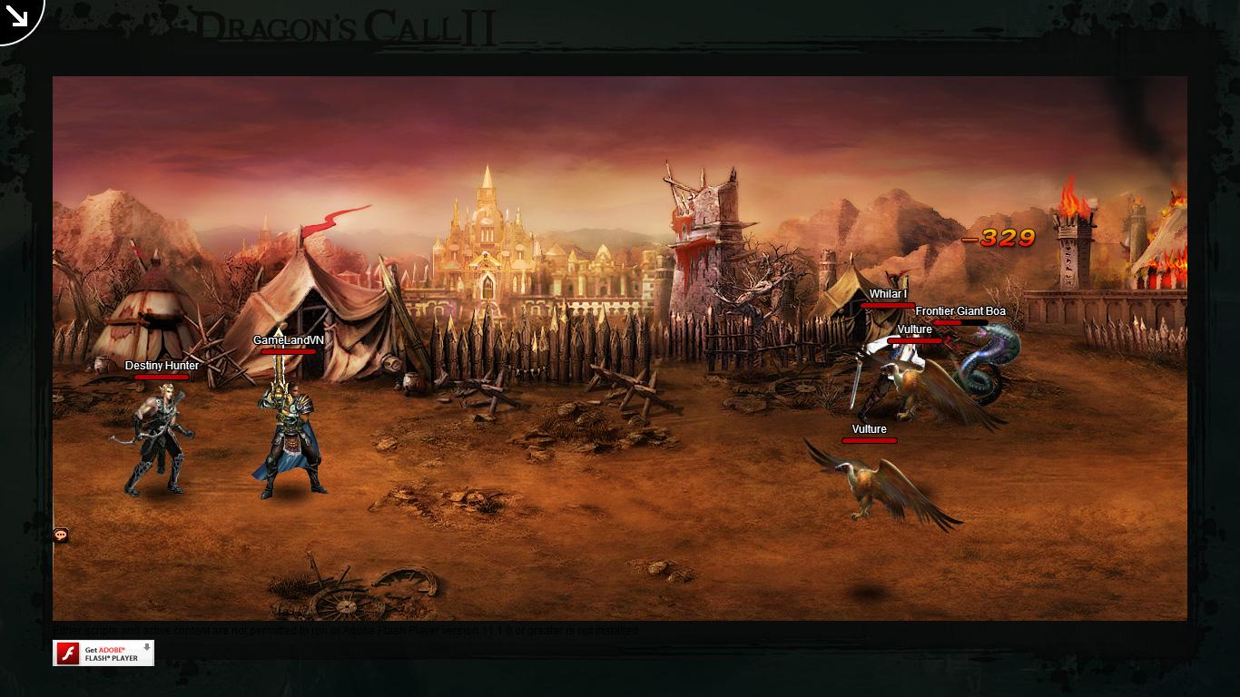 Một số hình ảnh về webgame Dragon's Call 2 - Ảnh 40