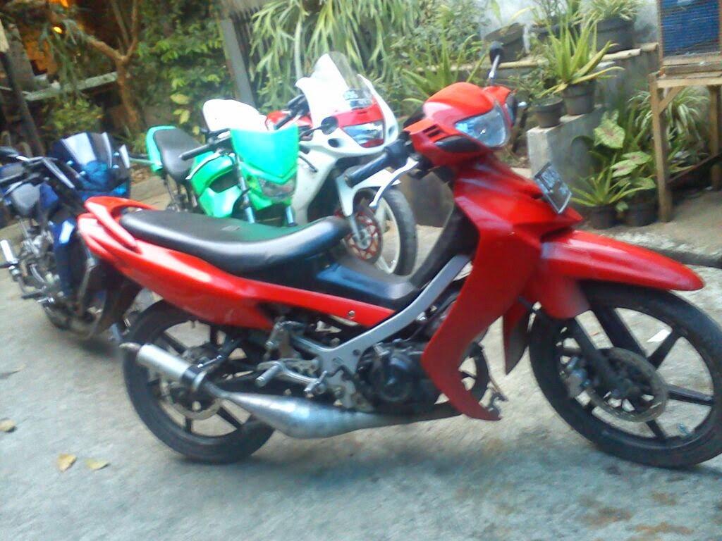 Modifikasi Motor Suzuki Satria 120