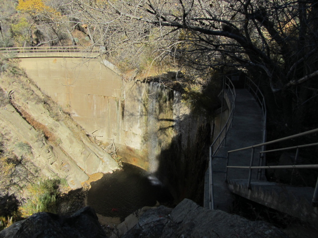 debris dam for flood control