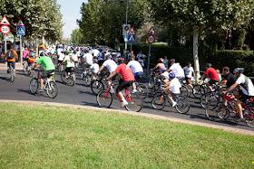 XIV Fiesta de la Bicicleta de Majadahonda, domingo 15 de septiembre de 2013