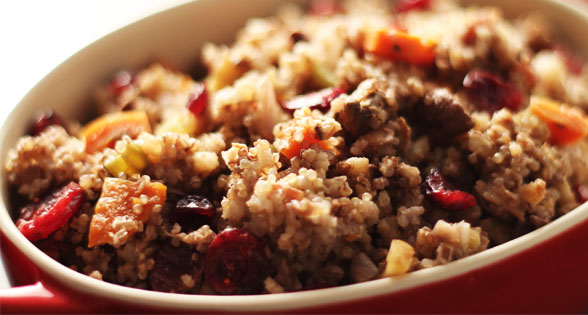 Thanksgiving Stuffing Recipe: Outside the Bird (low sodium)