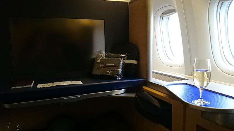 DSC 0846 - REVIEW - ANA : First Class - Tokyo Narita to London (B77W)