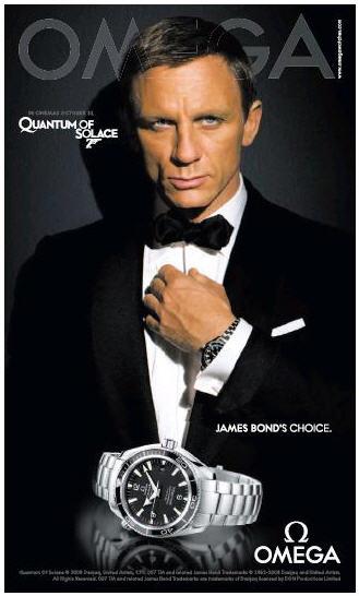 Omega錶 007 量子危機 價格 官方網站 哪裡買