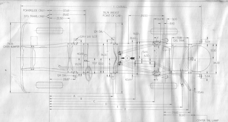 1960-66 Chevy  Gmc Truck Frame Diagram - Page 3 - The 1947
