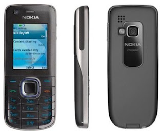 Nokia 6212  has the feature Near Field Communication(NFC)