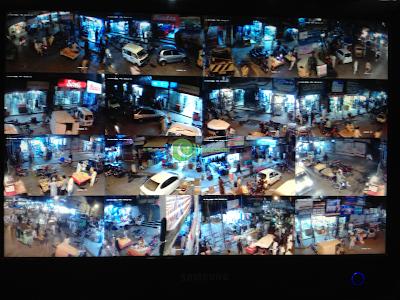 Raja Bazar Market CCTV Surveillance Project