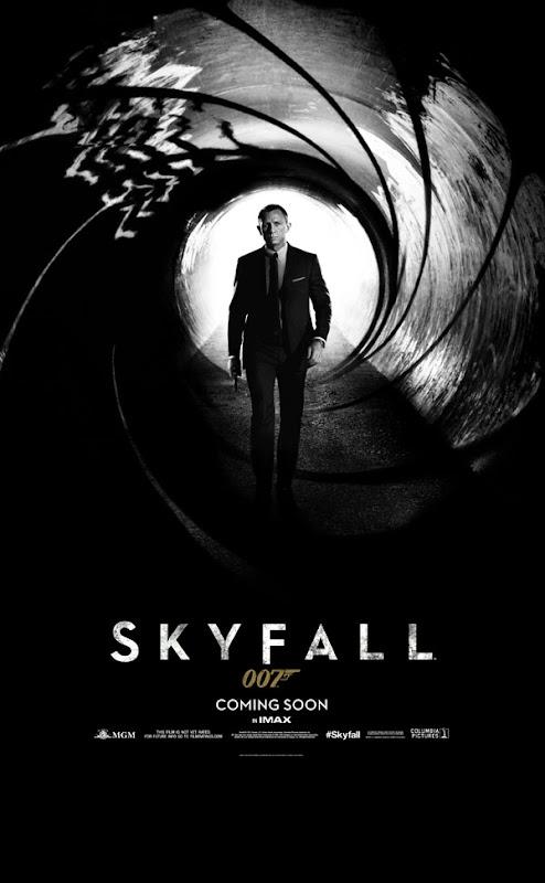 23 Skyfall jpg 142224 Skyfall   Primeiros Banner, Poster e Trailer.