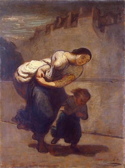 Honoré Daumier - Burden
