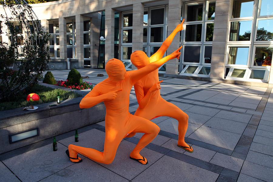 Оранжевый день