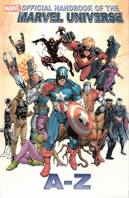 Official Handbook of the Marvel Universe, A to Z, v. 2 cover