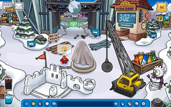 Club Penguin Penguin Cup Construction