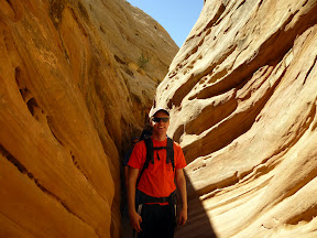 Hiking through Little Wildhorse Canyon (2013)