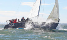 J/105 sailing college big boat regatta