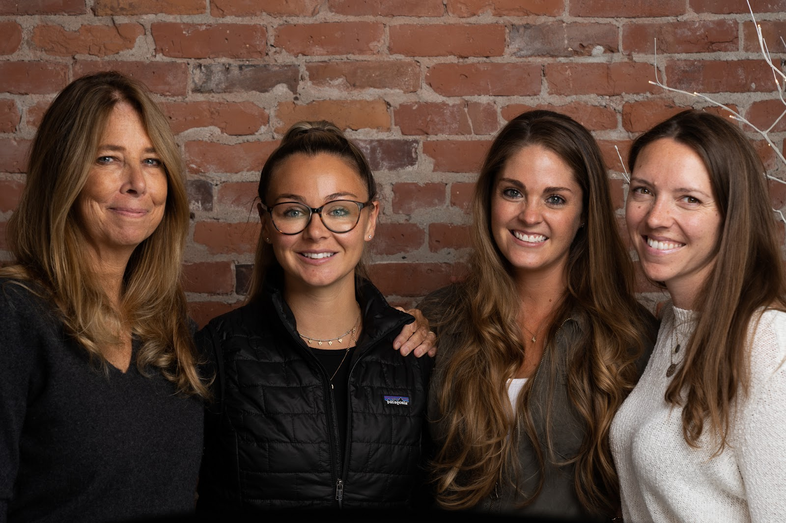 from left to right Founders Val & Breezy Griffith and Co-founders Chrissy Haller and Lizzie Resta