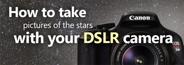 How to take pictures of stars and the milky way with your digital camera
