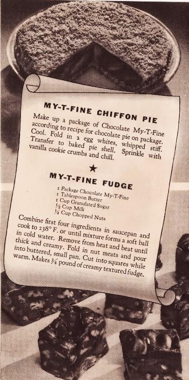 MY-T-Fine Chiffon Pie | MY-T-Fine Fudge