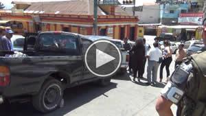 Colisión de vehiculos en la Zona 1 de San Marcos