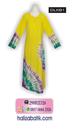 DLKB1 Baju Longdress, Model Longdress, Longdress Batik, DLKB1