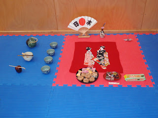 tea ceremony held at the end of the grading
