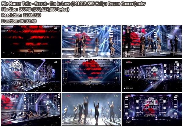 Download [Perf] Secret – I'm in Love @ SBS Hallyu Dream