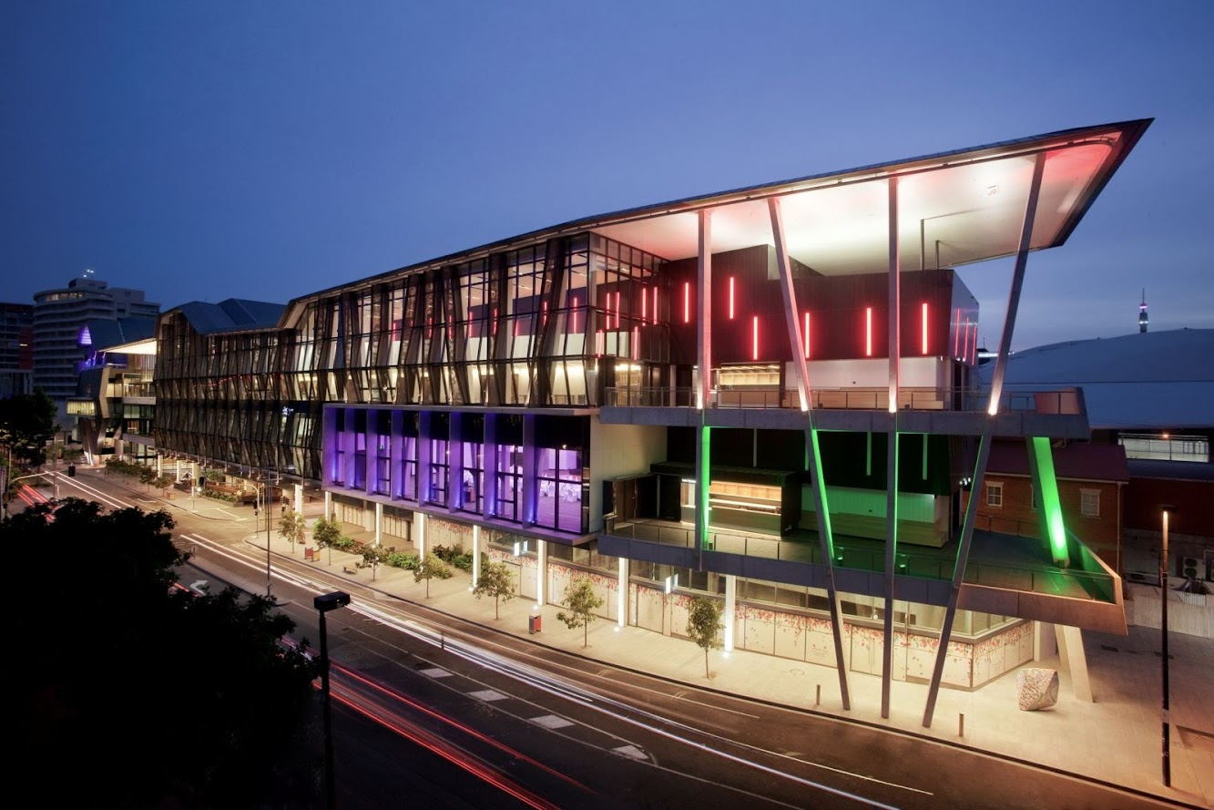 Brisbane Queensland, Australia: Brisbane Convention & Exhibition Centre Expansion by Cox Architecture