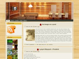 Wooden Dinning Room v1.0
