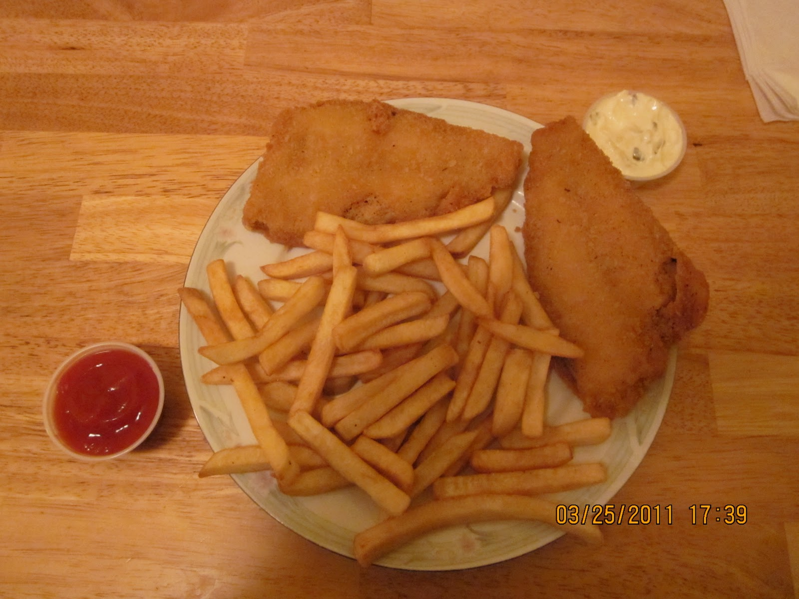 Karmabrooklyn blog fish and chips from maria 39 s pizzeria for Terrace fish and chips