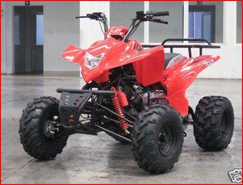 150cc Farm Quad Bike Rear Rack Automatic Camel
