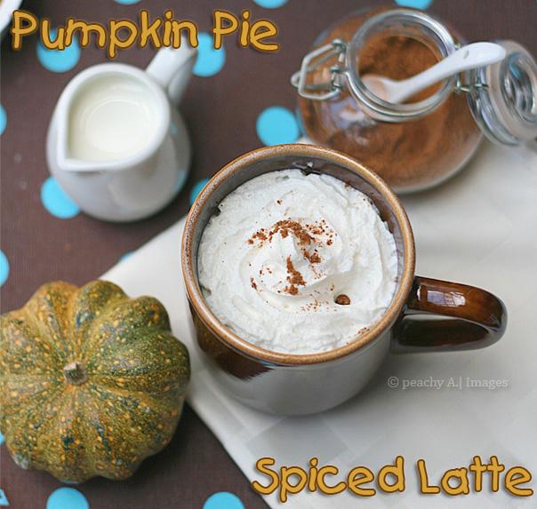Pumpkin Pie Spiced Latté