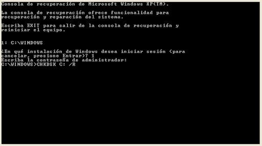 Cuando Windows XP no arranca pantalla de Bienvenida