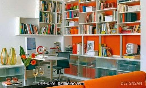 Các mẫu thiết kế nội thất phòng đọc sách P1-13