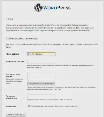 Wordpress primeros pasos