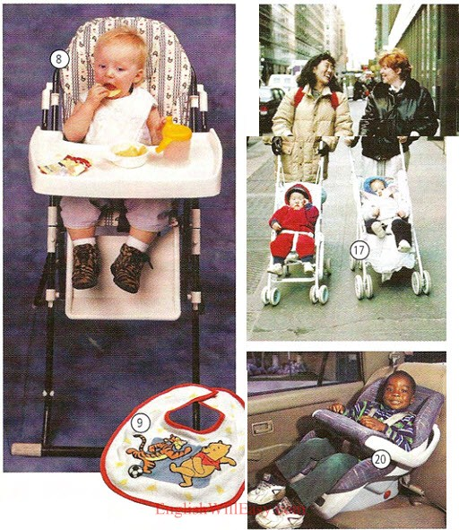 Nursery, Baby Accessories – Housing – Photo Dictionary