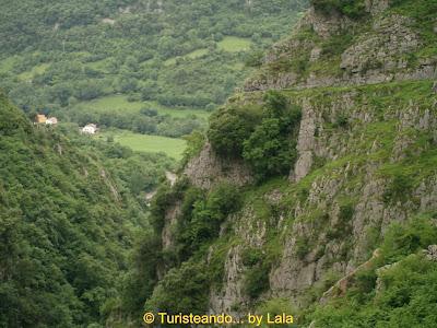Paisaje de la Ruta de las Xanas, Asturias