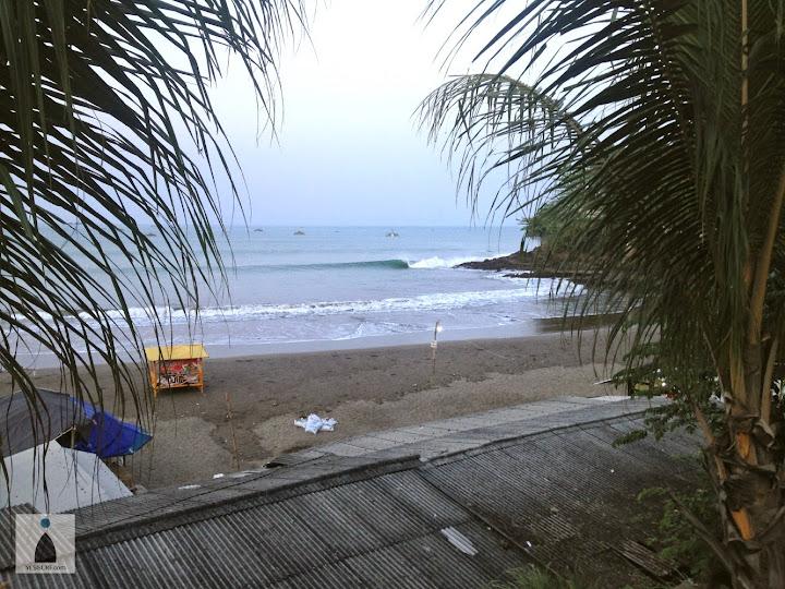 까랑사리 서핑