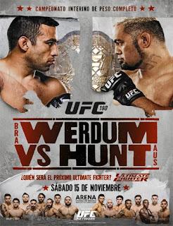 UFC 180: Werdum vs. Hunt (2014)