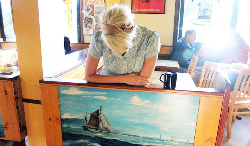 Women's Bawaiian with Ship Painting
