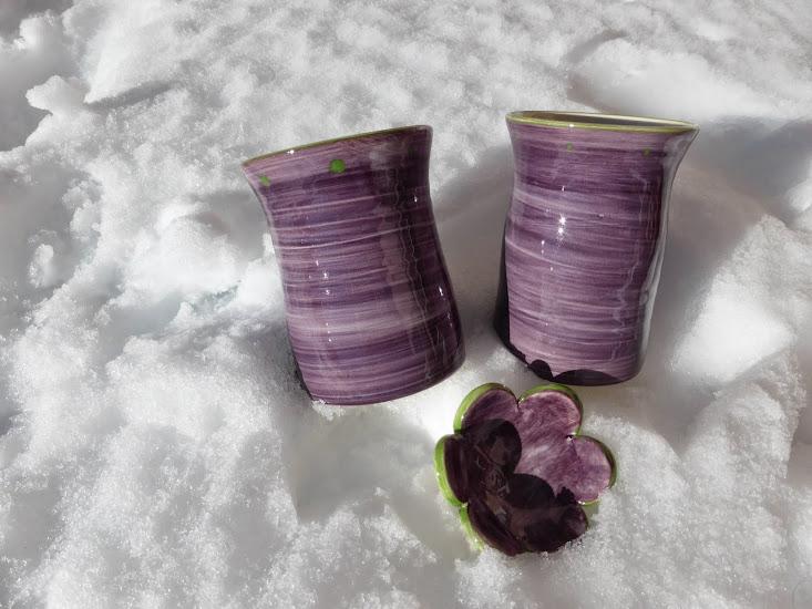 Mugs violets