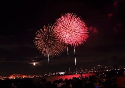 cách chụp ảnh pháo hoa ở Nhật Bản Cẩm nang
