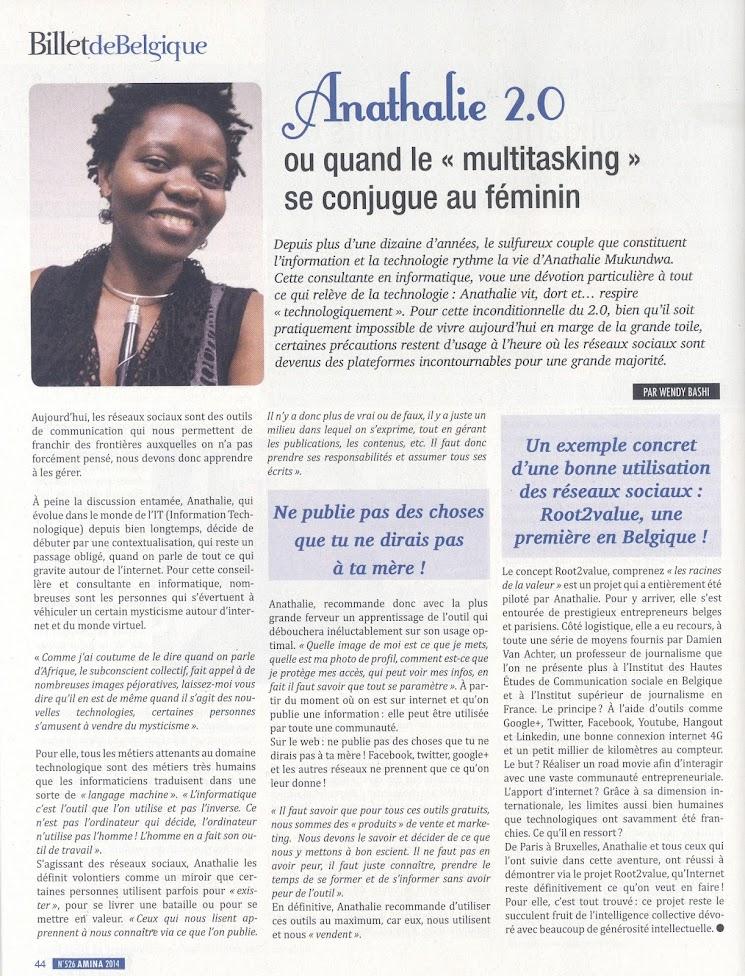 Anathalie 2.0 ou quand le << multitasking >> se conjugue au féminin