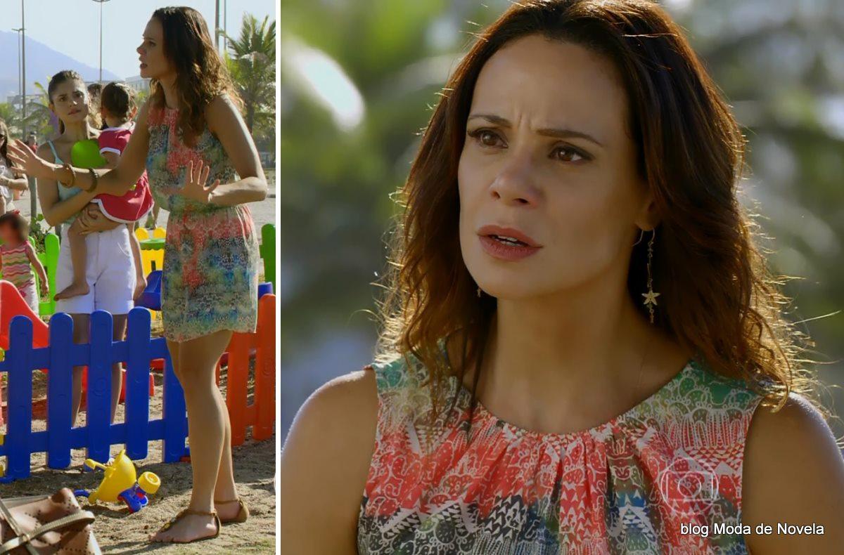moda da novela Em Família - vestido da Juliana dia 8 de maio