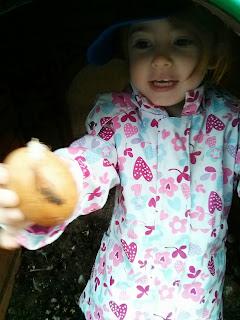 on an egg hunt