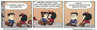 Clube da Mafalda:  Tirinha 749
